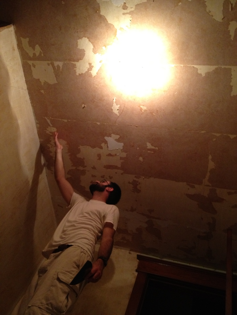scraping the ceiling